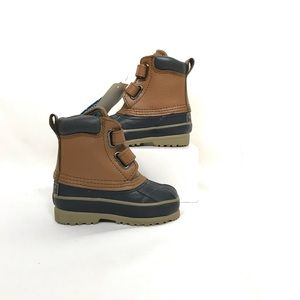 Totes Duck Boots Velcro Closure Size 6